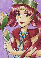 KaKAO ACEO #005 Sailor Kakyuu by kiyaviolet