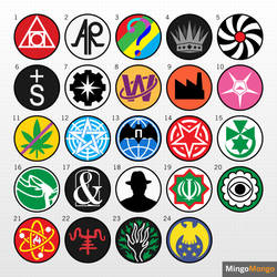 (SCP) Simplistic Group of Interest Logos by MingoMongo