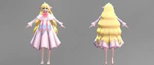 (MMD) Fairy Tail- Mavis Vermillion Ver2 DL by Fghostly