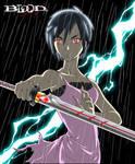 Otonashi Saya from Blood+ by karuma9