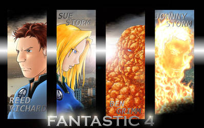 Fantastic Four by karuma9