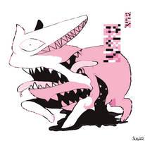 PKMN: Glitch Dog by SugarKills
