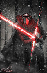 Kylo Ren by zachraw