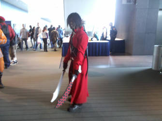 Terry as Archer at Nekocon by Mythhunter