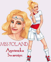 MDE 2012 - Miss Poland by hildegarna