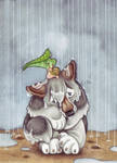 NotSoLittle Grey Cloud by BloodhoundOmega