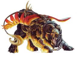Bloodi Epic Mount - Riyoko by BloodhoundOmega