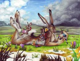 Rare Anthro Calendar - 2014 by BloodhoundOmega