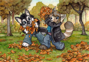 Fall Games by BloodhoundOmega