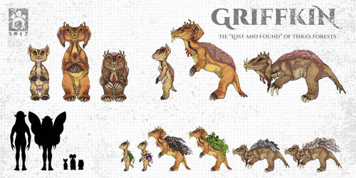The Griffkin by BloodhoundOmega