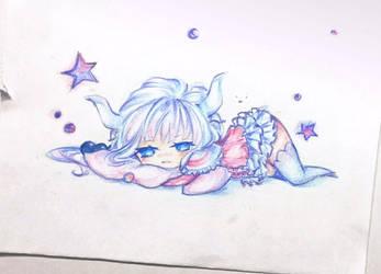 Kanna the Ferocious Dragon by Moeba-pop