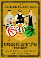 The Three Flavours Cornetto Trilogy -Frost Version by AndyDaRoo