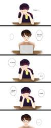 Yoongi's Stare (longer ver.) by dindagogo