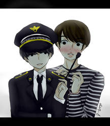 Cops Skit - Yoonjin by dindagogo