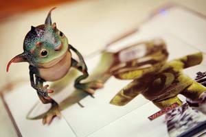 Pixie Frog by IgorSan