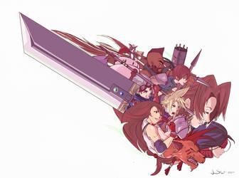 Final Fantasy  7 - We Are The Planet by JaiStuart