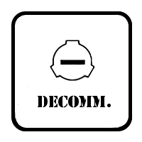 SCP Foundation: Decommisioned Symbol by Lycan-Therapy