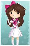 Happy Birthday Angelwing8 by KiwiKuma