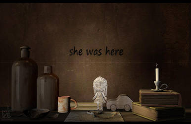 She Was Here by Nadia-design