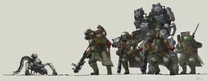 Squad Zero by EstevesLuis