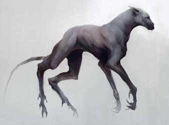 Demon hound by Ketunleipaa