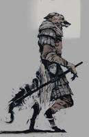 fox warrior II by Ketunleipaa