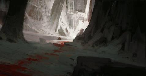 Blood trail by Ketunleipaa
