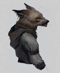 Fox fella by Ketunleipaa