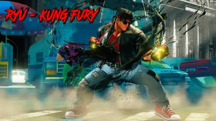 RYU - KUNG FURY by Khaledantar666