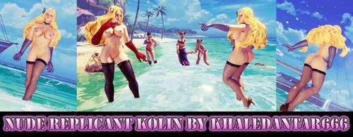 NUDE REPLICANT KOLIN by Khaledantar666
