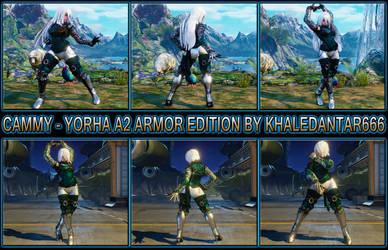 CAMMY - YORHA A2 ARMOR EDITION by Khaledantar666