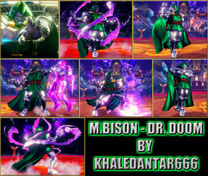 M.BISON (DICTATOR) - DR. DOOM by Khaledantar666