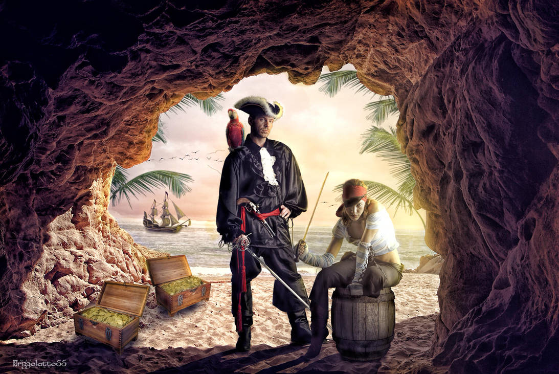 The Pirate Treasure Cave by Brizzolatto55 on DeviantArt