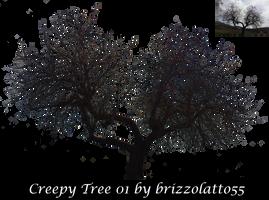 Creepy Tree 01 by Brizzolatto55