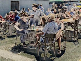 Pub Folk by Lothrian