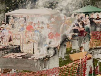 At The Village Fete by Lothrian