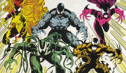 The Five Symbiotes (The Life Foundation) by YoungJustice12334