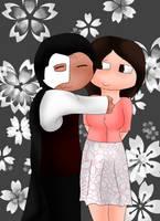 Erik Hugs for my Friend by ElyssaJM