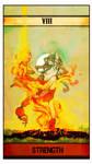 Tarot Card: Strength by Derrewyn