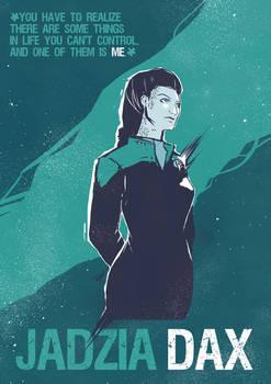 Jadzia Dax by Derrewyn