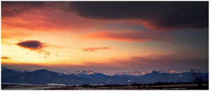 Mountain of Light by iustyn
