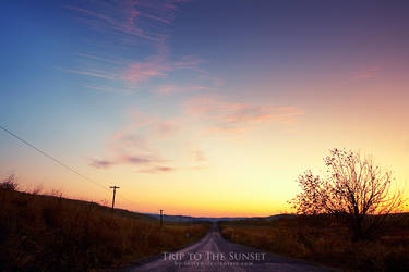 Trip to the Sunset by iustyn