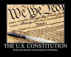 The U.S Constitution by Balddog4