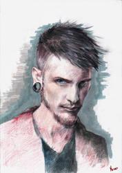 Crayons:Punk Boy by nekromanta