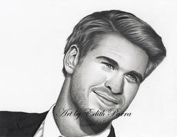 Liam Hemsworth by scoobylady