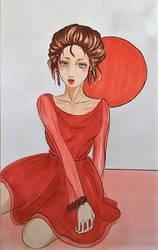 Lady In Red by Cinnalynn