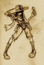 Niki Fully Body sketch by TheGasMaster4381