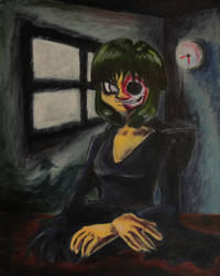 Undead Master as Mona Lisa by TheGasMaster4381