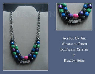 AFOA Midseason Prize: Foxtailed Critter by dragonjewels