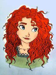 Princess Merida by InkHeart326